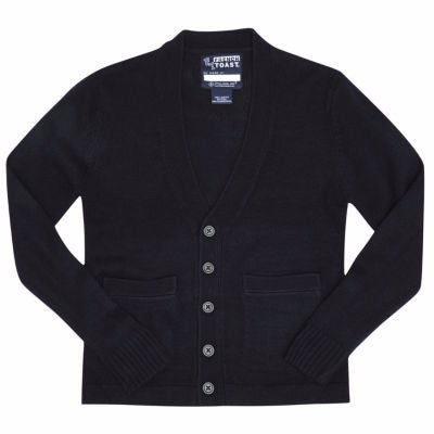 Boy's/Unisex Cardigan Sweater: Regular Fit