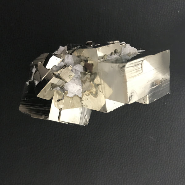 peruvian pyrite and quartz cluster | #120