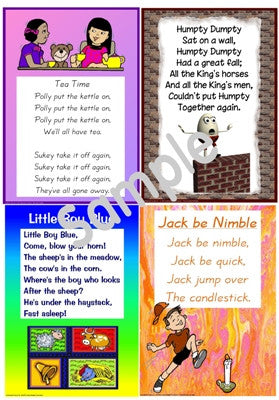 Nursery Folk Rhymes A3