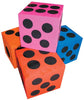 12 Large Foam Dice