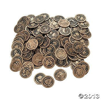 144 Pirate Coin Counters