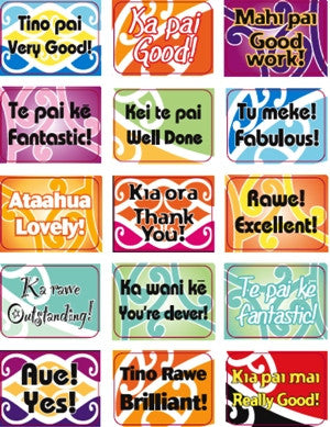 150 Bilingual Stickers