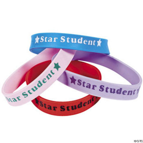 24 Star Student Wristbands