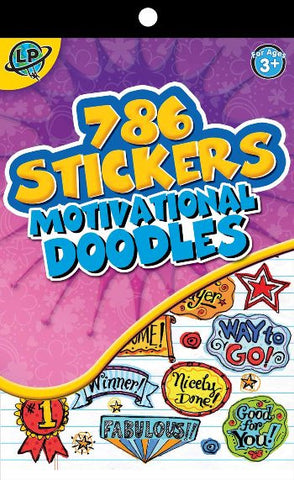 786 Doodles Stickerbook