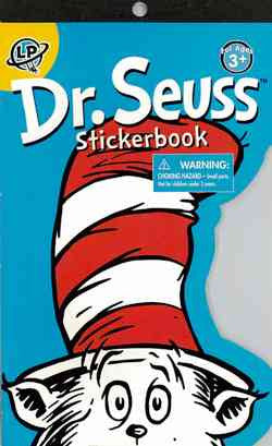 500+ Die-Cut Dr Seuss Stickerbook