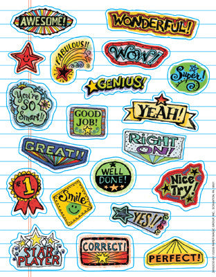 120 Doodles Stickers