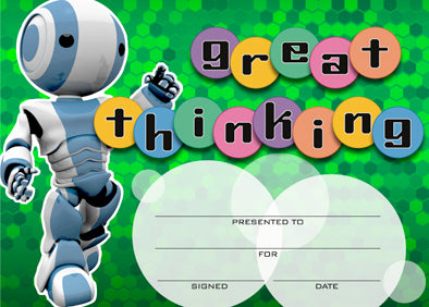 Great Thinking Robot Award