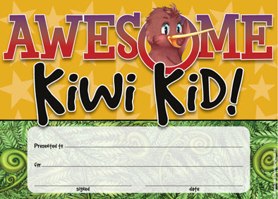 Awesome Kiwi Kid Award