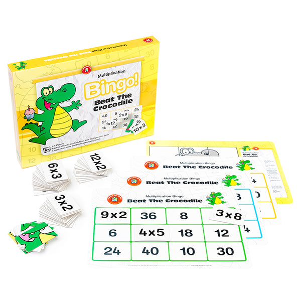 Multiplication Bingo - Beat the Crocodile