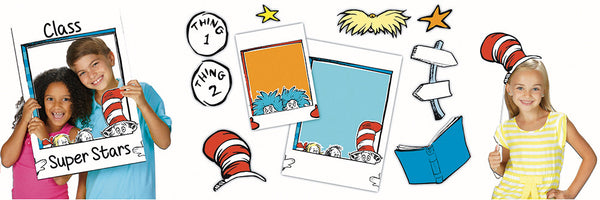 Dr Seuss School Selfie Set