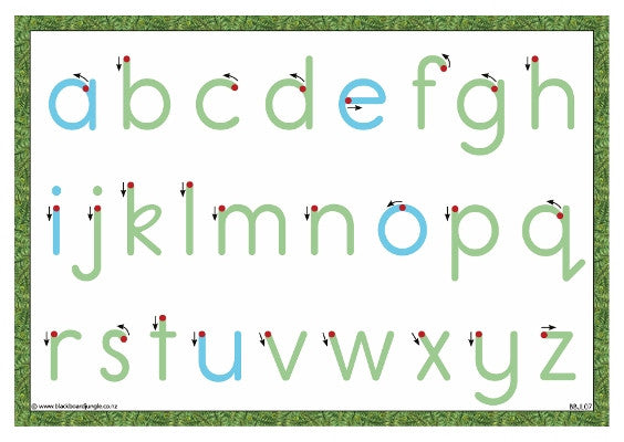 Letter Formation Card (10 pack)