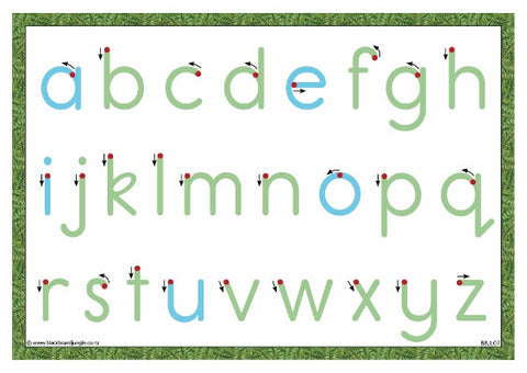 Letter Formation Card