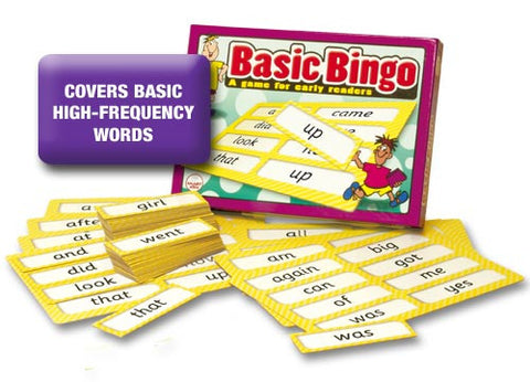 Basic Word Bingo