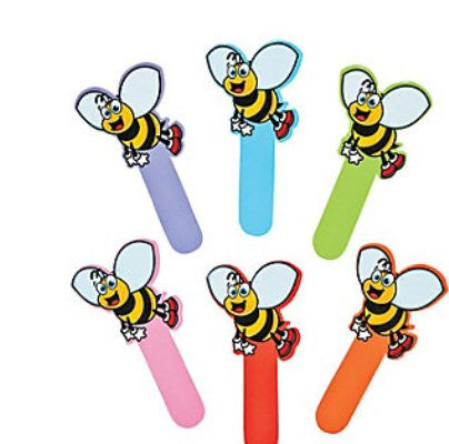 12 Bee Bookmarks