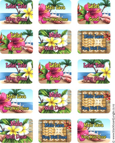Bilingual Samoan Stickers