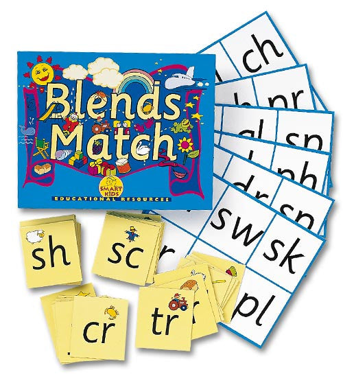 Blends Match Bingo