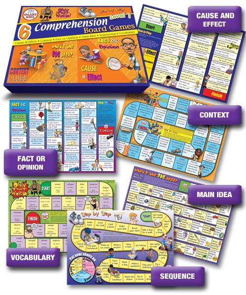 Comprehension Board Games 1