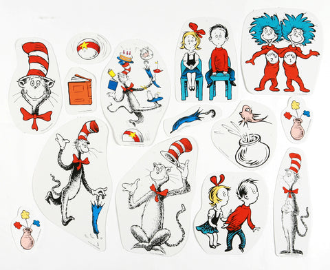 Cat in the Hat Characters Deco Kit