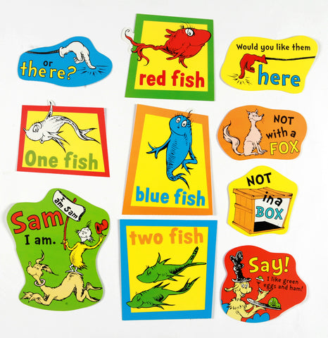 Dr Seuss Books Deco Kit