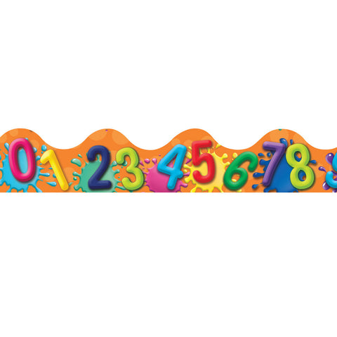 Colour My World Numbers Trim