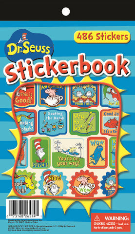 Dr Seuss Awesome Sticker Book