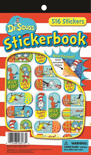 Dr Seuss Corners Sticker Book