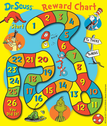 36 Dr Seuss Charts & Stickers