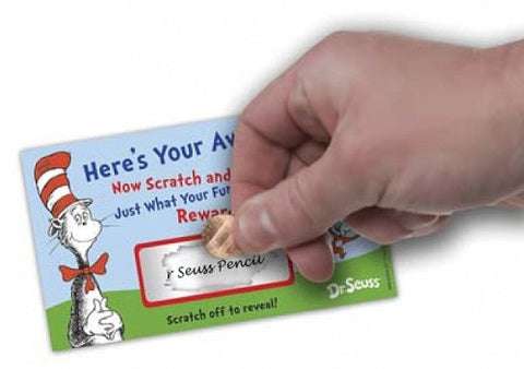 Dr Seuss Scratch-Off Awards