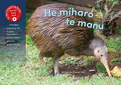 He Miharo te manu (Birds are Amazing) Singalong Book