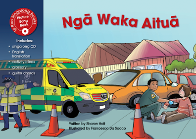 Nga Waka Aitua (Emergency Vehicles) Singalong Book