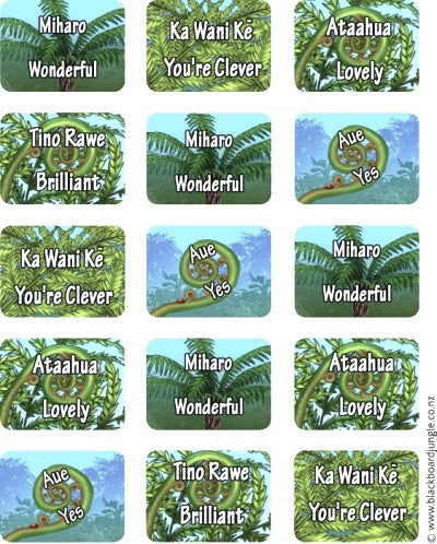 Fern Stickers