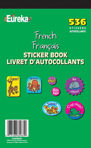 French Sticker Book