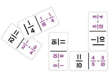 Dominoes Fraction Addition