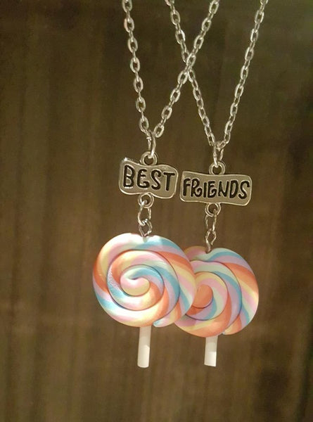 Lollipop BFF Necklaces (x2)