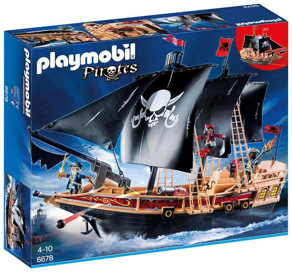 Playmobil Pirate Combat Ship