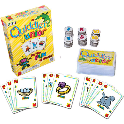 Quiddler Junior Word Game