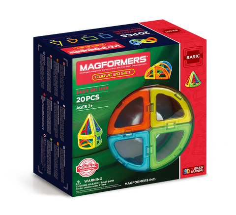 MAGFORMERS Curve 20pc Set