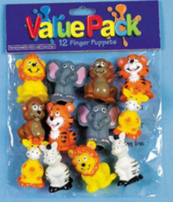 Jungle Finger Puppets