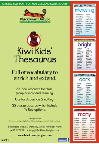 Kiwi Kids' Thesaurus (laminated)