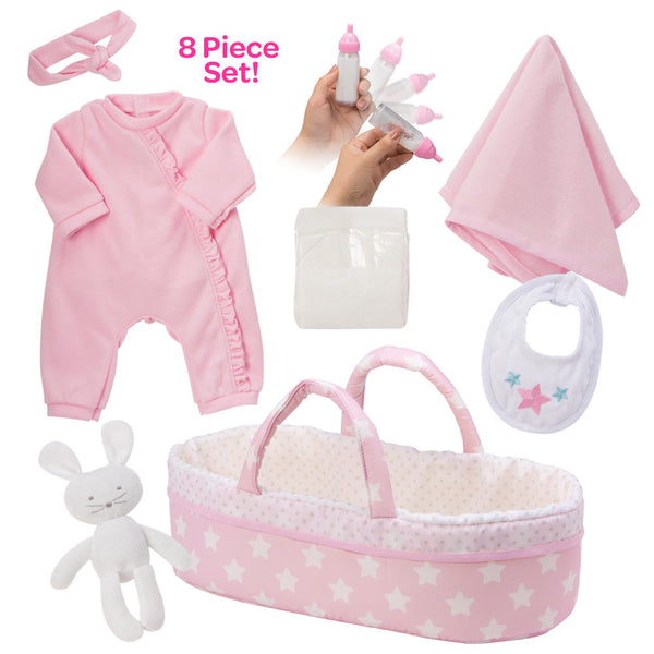 Adora Adoption Baby Essentials 8pc set