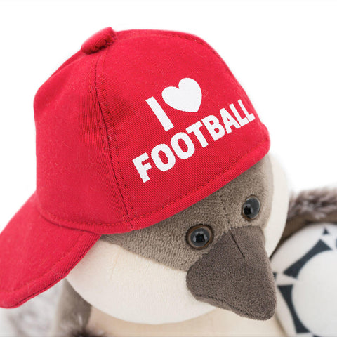 Chirpy the Sparrow I Love Football (BOXED)