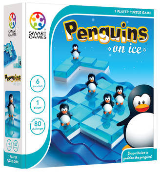Penguins on Ice Logic Game