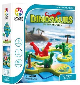Dinosaurs Mystic Islands Logic Game