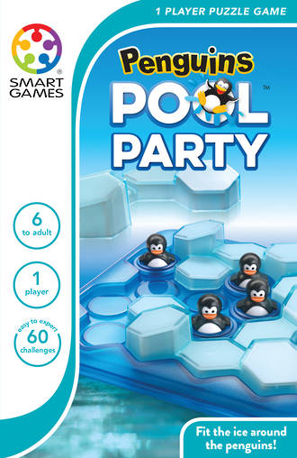 Penguins Pool Party Logic Game