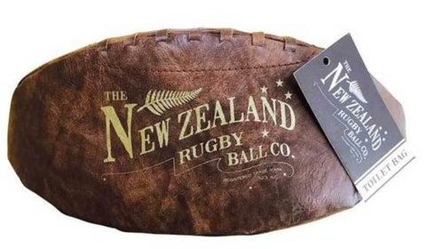 Rugby Ball Toilet Bag