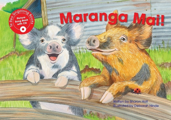 Maranga Mai! (Get Up!) Singalong Book
