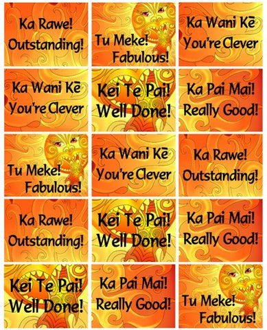 Maui Stickers Bilingual