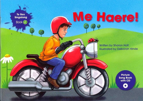 Me Haere! (Let's Go!) Singalong Book