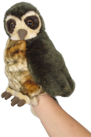 Morepork (ruru) Puppet with Sound