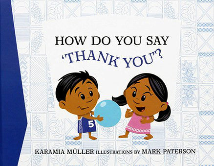 How Do You Say 'Thank You'? Samoan book